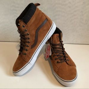 4265bce5cc Vans Shoes - VANS SK8-HI MTE Glazed Ginger Weatherproof Suede